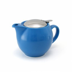 Чайник с ситечком, небесно-синий
