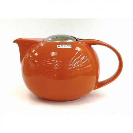 Чайник с ситечком, морковный