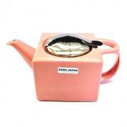 Чайник с ситечком, розовый