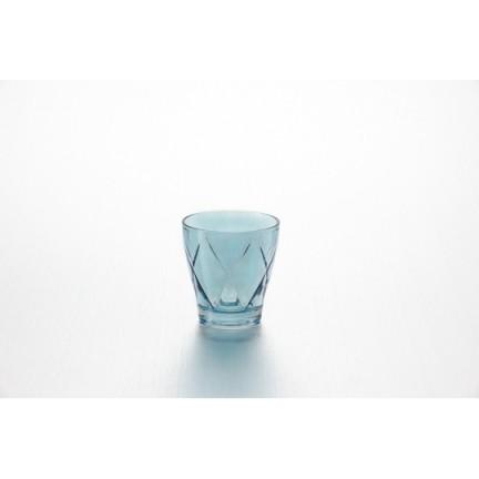 """Набор стаканов  270 мл, 4 шт цвет: индиго """"Джой"""""""