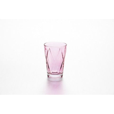 "Набор стаканов ""Джой"" 4 шт, цвет: фуксия"