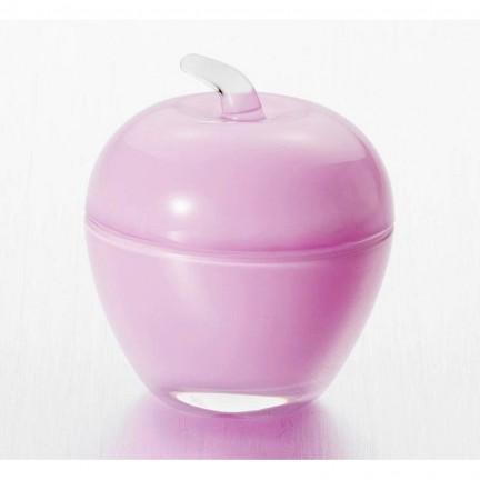 """Вазочка с крышкой  7,5*9 см """"Яблоко"""", цвет: фиолетовый"""