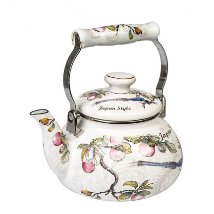"""Японский эмалированный чайник, серия """"Японский стиль"""""""