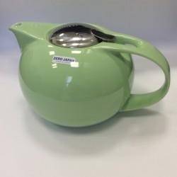 Чайник с ситечком, зеленое яблоко