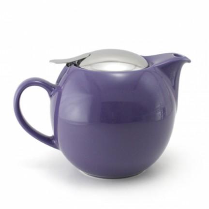 Чайник с ситечком, фиолетовый
