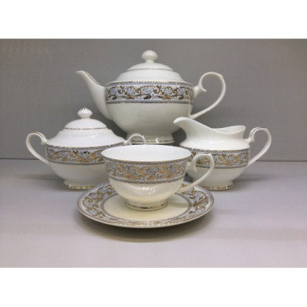 """Сервиз чайный """"Барокко"""" 17 предметов на 6 персон"""