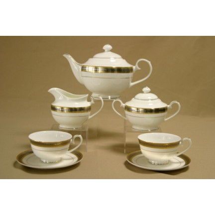 """Сервиз чайный """"Симфония"""" 17 предметов на 6 персон"""