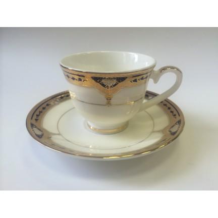"""Набор чашек для кофе на 2 персоны """"Дворцовый Кобальт"""""""