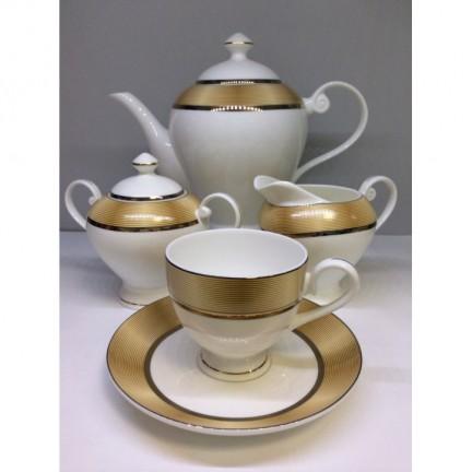 "Сервиз чайный ""Сафари"" 17 предметов на 6 персон"