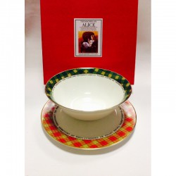 "Набор из двух предметов: Тарелка + салатник ""Алиса"""