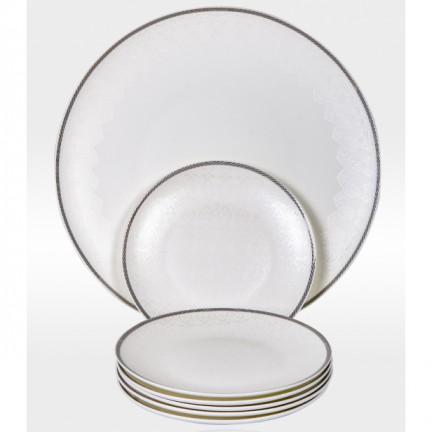 """Набор тарелок для десерта """"МОДЕРН"""" на 6 персон 7 предметов"""