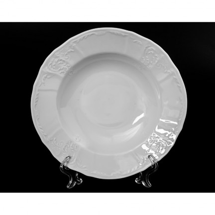 Тарелка глубокая Бернадотт недекорированный 23 см