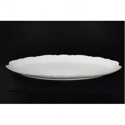 Блюдо для рыбы Отводка золото 52 см