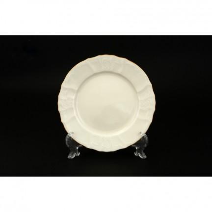 Тарелка десертная Отводка золото 17 см