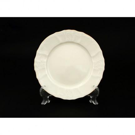 Тарелка десертная Отводка золото 19 см