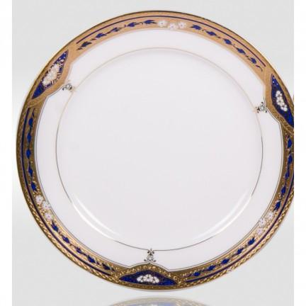 """Набор закусочных тарелок """"Дворцовый кобальт"""" на 6 персон"""
