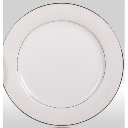 "Набор закусочных тарелок ""Серый шелк"" на 6 персон"