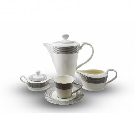 """Сервиз чайный """"Сфера"""" 17 предметов на 6 персон"""